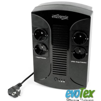Источник бесперебойного питания EnerGenie EG-UPS-001 650VA, (EG-UPS-001)