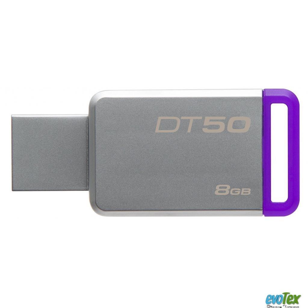 USB флеш накопитель Kingston 8GB DT50 USB 3.1 (DT50/8GB)