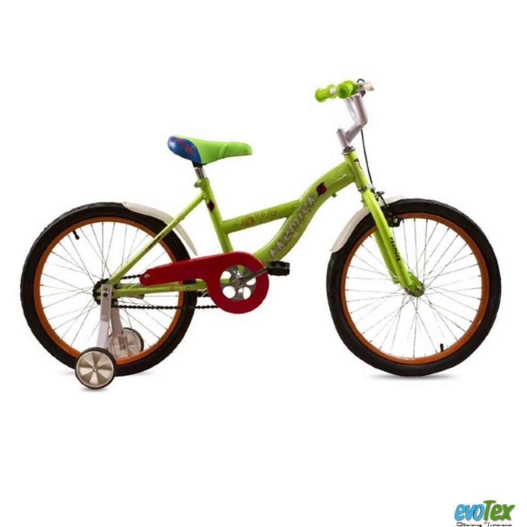 """Детский велосипед Premier Flash 20"""" Lime (13932)"""