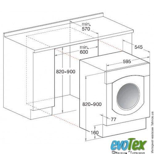Встраиваемые стиральные машины