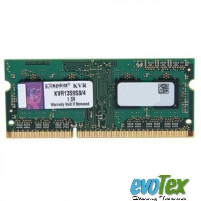 Память Kingston SODIMM DDR3-1333 4096MB PC3-10600 (KVR13S9S8/4)