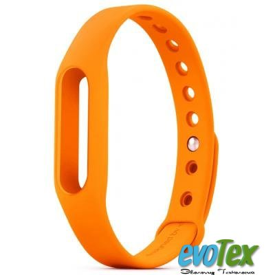 Ремешок для фитнес браслета Xiaomi Mi Band Orange (1144600002)