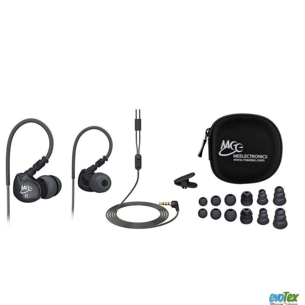 Наушники MEElectronics M6 Sport Black
